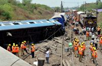 Train accident at Sitheri in Tamil Nadu 2013