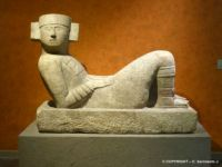 MEXICO - Mexico City - The National Museum of Anthropology – Maya Chac-Mool