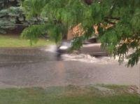 #3,  A river runs through the lawn area,