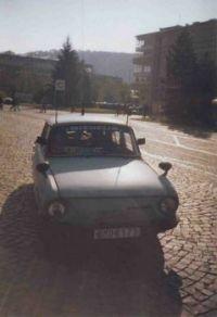 Škoda 100, Modrej brouček.