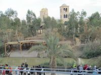 River Jordan - the baptized place . End of our journey