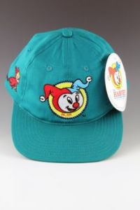 Harvey Snapback Hat in turquoise