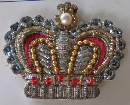 Old Brooch made in India