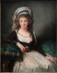 Madame d'Aguesseau de Fresnes by Elisabeth Louise Vigée Le Brun, 1789