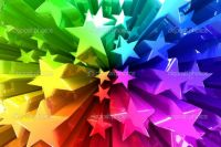 Colorful-burst-of-stars