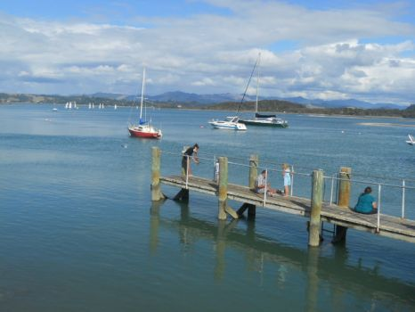 Fishing at Ohiwa Harbour, NZ