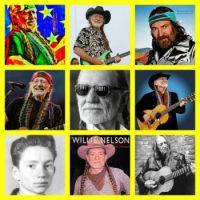 Willie Nelson collage