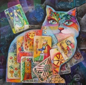 Cat_tarot_painting