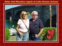 Lake Havasu  MaryAnn and Peter