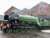 Flying Scotsman in Doncaster (3-10-2010)