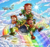 Leprechauns Over the Rainbow - 306