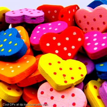 Colorful Rubber Hearts