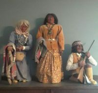 Native American Dolls made by Erla Graham