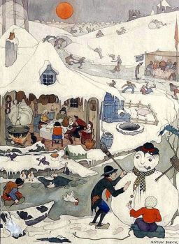 Dutch artist Anton Pieck #104