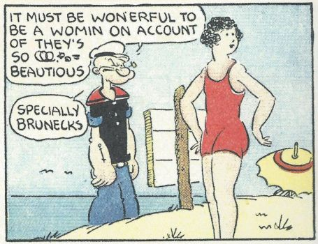 Popeye Had A Way With Words....