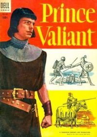 DELL COMIC -PRINCE VALIANT 1954  ROBERT WAGNER