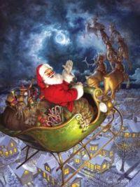 santas sleigh