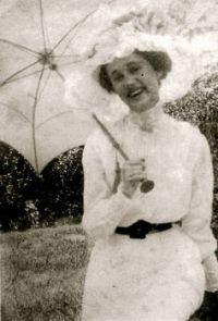 My mother at 19   circa 1912