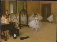 Edgar Degas - The Dancing Class (1870)