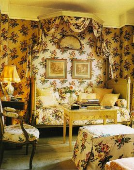 Cheery Yellow Chintz!