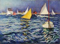 """Sailing at Marblehead"" - James Julia"