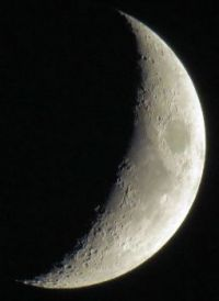 waxing moon, June 28