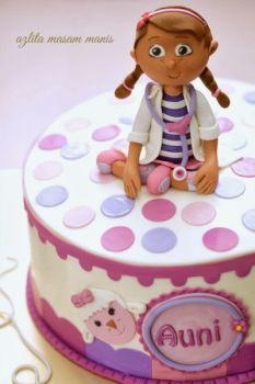 Awe Inspiring Solve Doc Mcstuffins Birthday Cake Azlita Masam Manis Jigsaw Personalised Birthday Cards Beptaeletsinfo