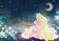 princess serenity and princess chibiusa