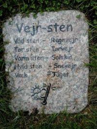 Vejr-sten - Weather Stone