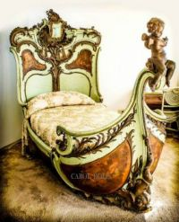 Bed from Lon Chaney's Phantom of the Opera and Sunset Blvd.