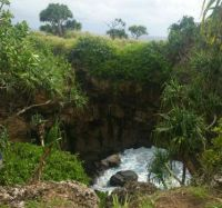 Hufangalupe chasm - Pigeon's Doorway, Tonga 2017