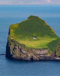 Elliðaey island, Iceland.