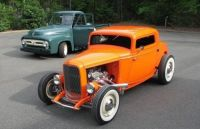 Fine '32 Ford Coupe & '53 Ford Pickup