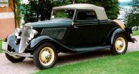 1933 Ford Model 40 760 Cabriolet