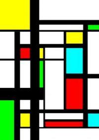 Mondrian style