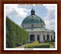 Kroměříž - Květná zahrada - Rotunda / Flower Garden - Rotunda