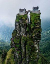 Somewhere High Up, Where Tourists Like To Go