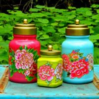Colorful Ginger Jars