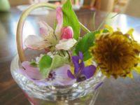 My Grandson's flower arrangement