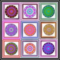 9 Bright Kaleidos