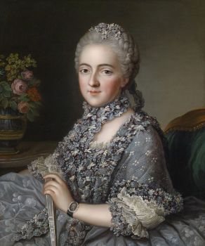 Portrait of a Lady Guillaume Voiriot (1713 – 1799)
