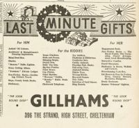 Christmas gift ideas from 1953