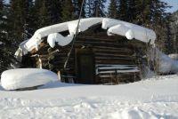 Cabin in Wiseman, Alaska