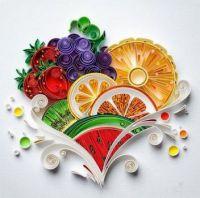 Paper Fruit & basket