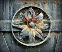 Rusty Iron Flower