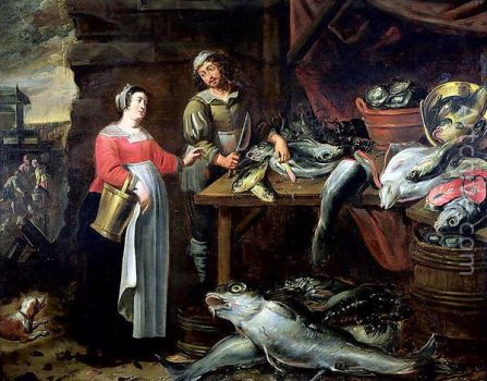 Alexander Andriaenssen (1587-1661) - The Fishmonger