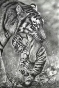 sophie wood mother and cub