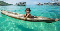 A little Sama Bajau girl.