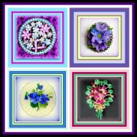 More Leftovers in Purple Brooches - enjoy