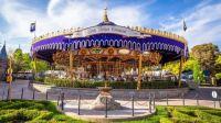 Carrousel at Disneyland in California